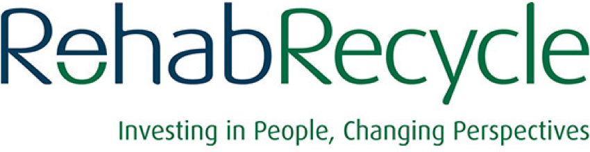 Rehab Recycling logo