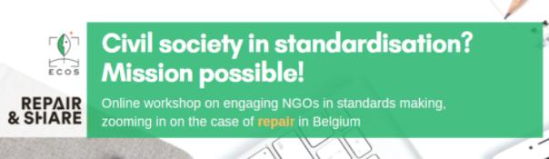 ECOS Civil Society in standardisation