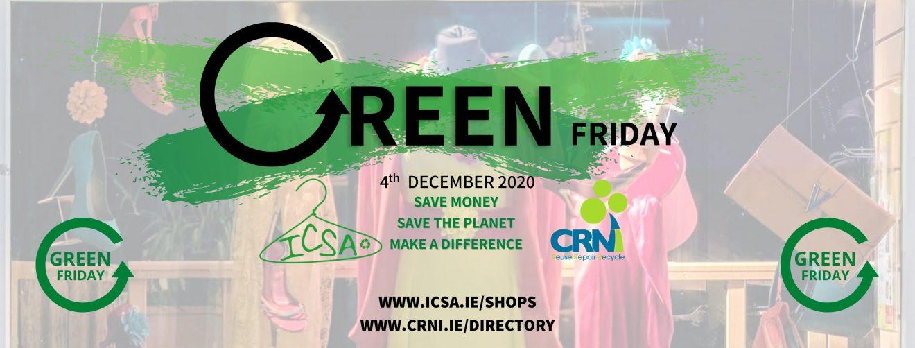 ICSA and CRNI Green Friday Campaign Horizonal