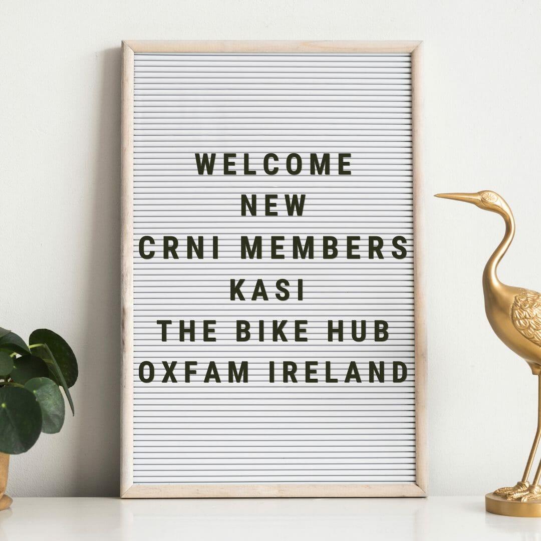Welcome New CRNI Members